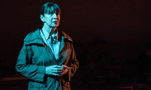 Maureen Beattie in Nuclear War at the Royal Court