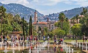 La Promenade du Paillon in Nice - perfect for a picnic.
