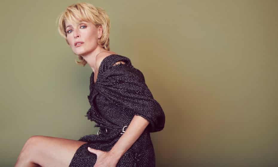 Gillian Anderson OBSERVER MAG USE ONLY