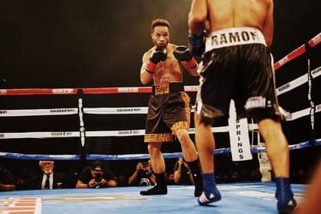 Patricio Manuel's pro debut fight with Hugo Aguilar at Fantasy Springs Casino in Indio, CA.