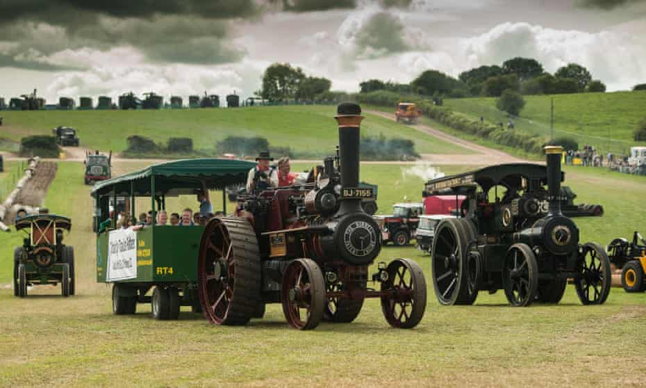 machinery at the Great Dorset Steam Fair.