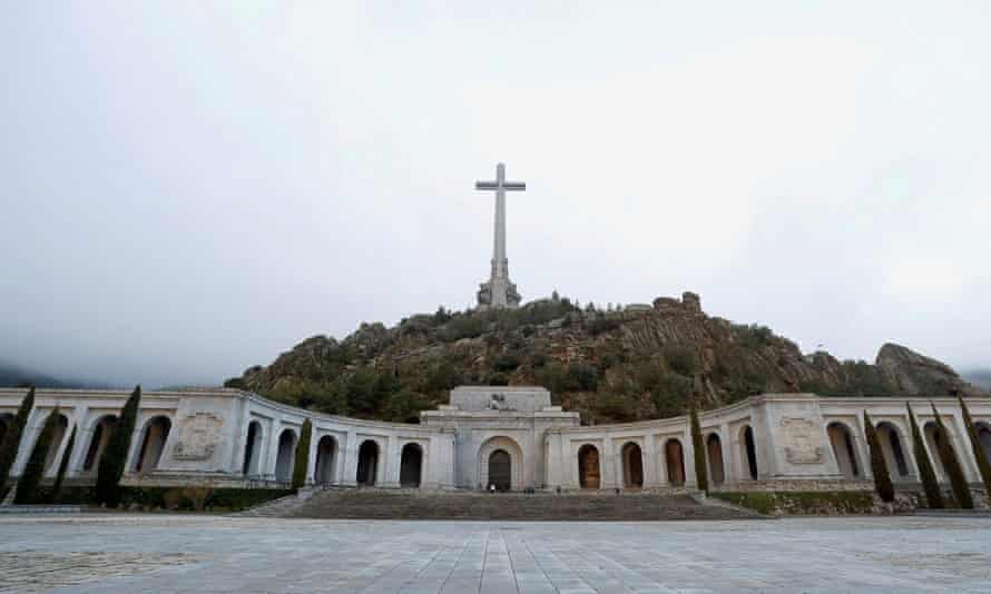 The Valley of the Fallen contains the bodies of more than 30,000 people from both sides of the civil war.