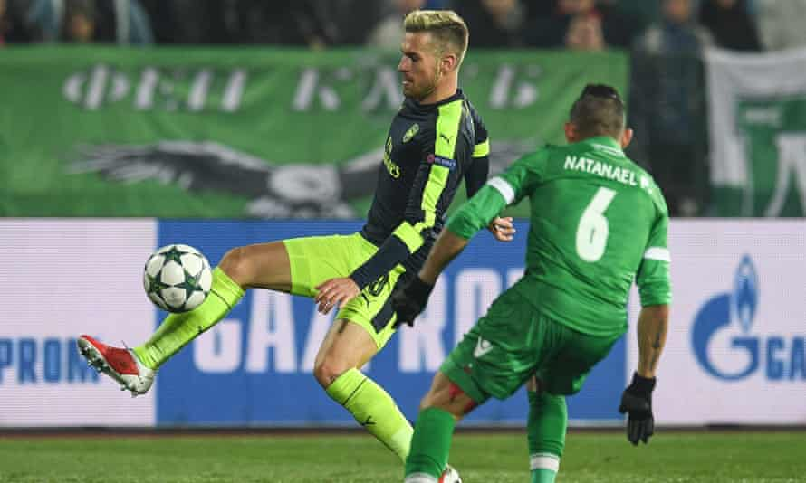 Aaron Ramsey had spent two months out with a hamstring problem but says he is back to full fitness and ready to figure against Tottenham on Sunday.