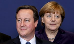 Cameron and Merkel did not see eye to eye on freedom of movement.