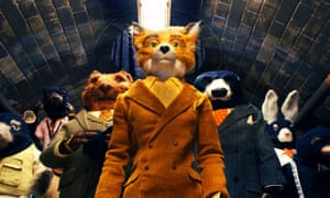 Fantastic Mr. Fox in a sceme from the animated movie directed by Wes Anderson.