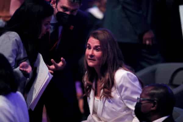 Melinda Gates, Co-Chair of the Bill & Melinda Gates Foundation at the Generation Equality Forum in Paris