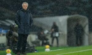 Jose Mourinho. Wet.