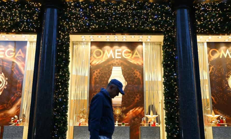 christmas shopping, London