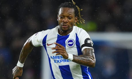 Burnley fan charged with racially abusing Brighton's Gaëtan Bong