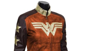 ece2f538ff8 Wonder Woman Waxed Jacket featured in the Film Jackets Cyber Monday deal
