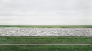 Rhine II by Andreas Gursky sold for $4.3m (£2.7m) at Christie's in New York, setting a record for any photograph sold at auction.