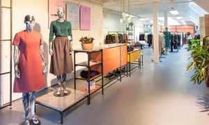 Inside Lena, Amsterdam's fashion library where members are loaned clothes.