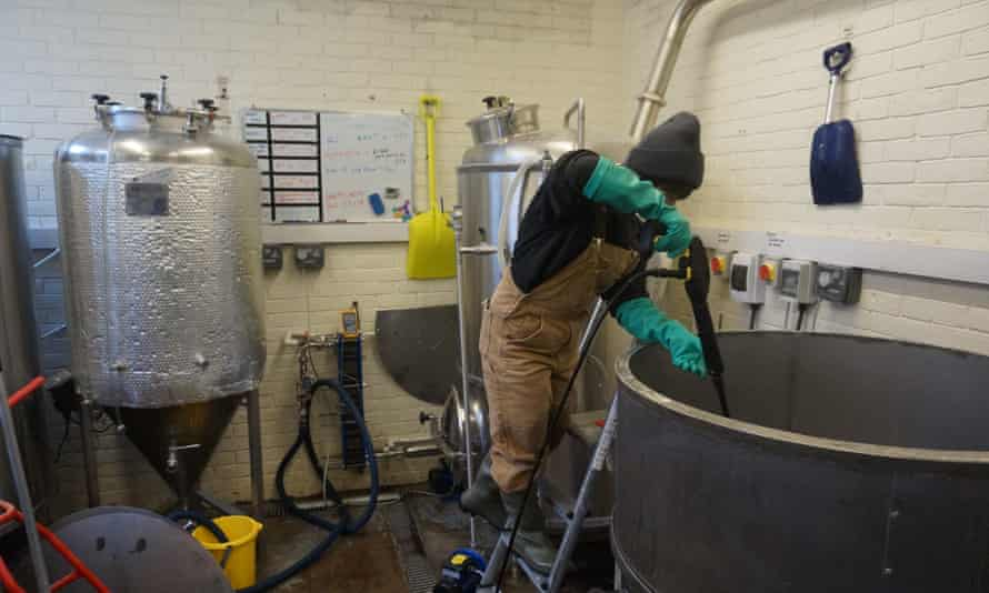 'The whole brewing process is notoriously bad for water usage, electricity usage, for chemicals.'