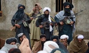 Combattenti talebani nella provincia di Farah, in Afghanistan