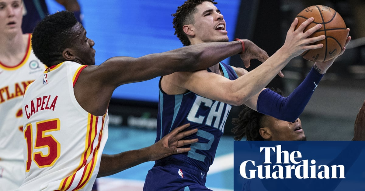 LaMelo Ball, 19, becomes youngest NBA player ever to record triple-double