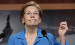 Elizabeth Warren said: 'I don't understand how anyone regardless of political party could support a bill like that.'
