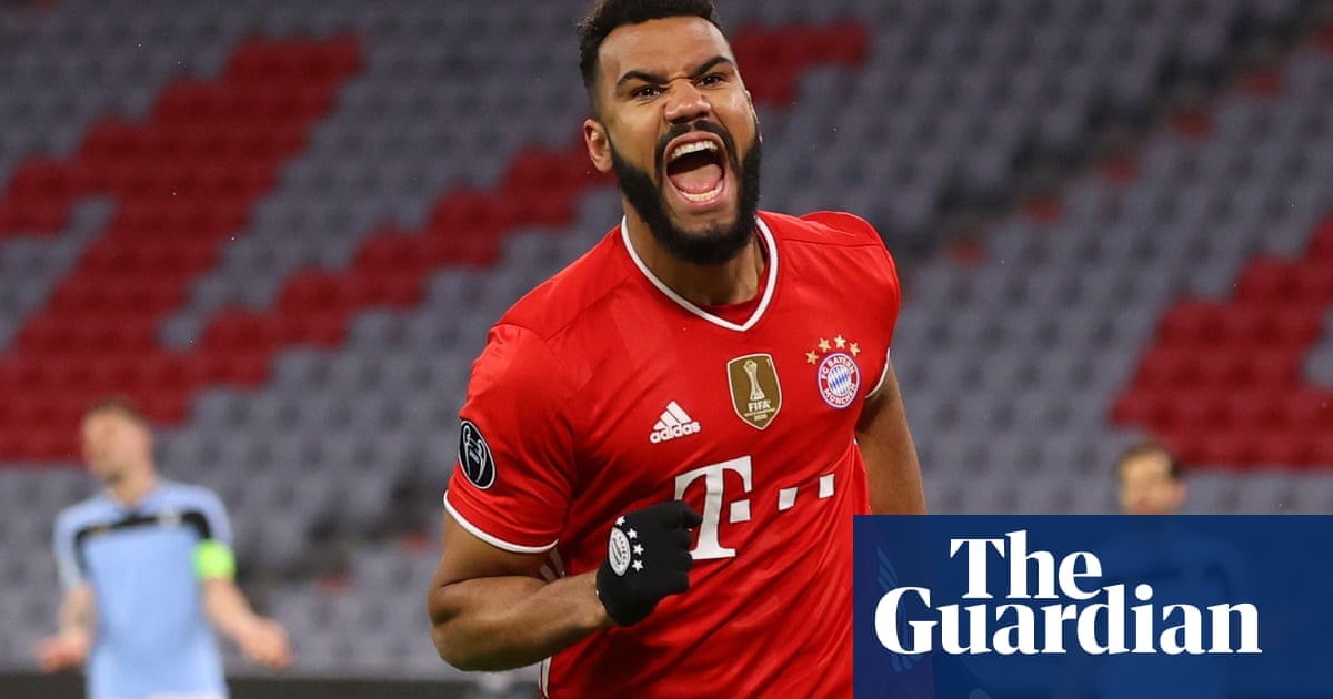 Bayern Munich ease past Lazio to reach Champions League quarter-finals
