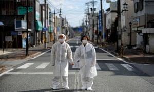 After the Fukushima nuclear disaster.