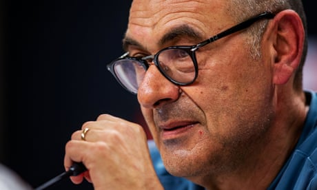 Maurizio Sarri: a look back at the Italian's highs and lows at Chelsea – video