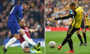 Eden Hazard and Gerard Deulofeu lit up Stamford Bridge and Wembley respectively with moments of individual magic.