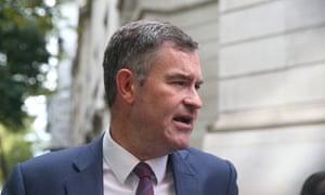 David Gauke in Westminster in September 2019