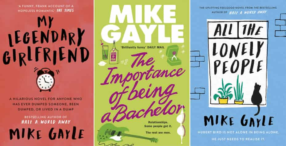 'Love, laughter, hatred and jealousy'… some of Gayle's novels.