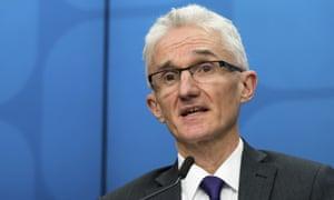 Mark Lowcock, the under-secretary-general of the UN's humanitarian agency OCHA.