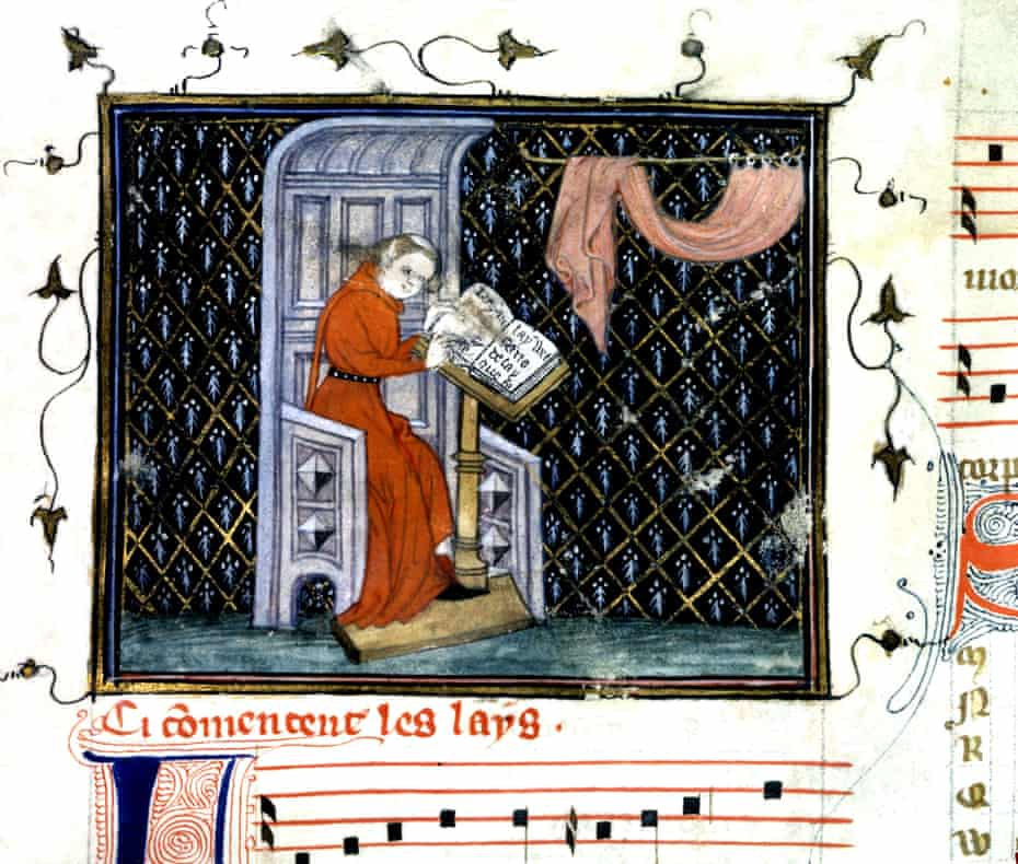 'Music does not care for melancholy' … 14th century composer Guillaume de Machaut never referenced the Black Death which ravaged France