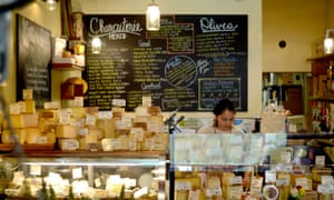 The dairy produced in Point Reyes contributes to the local foodie scene.