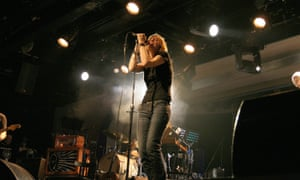 Portishead performing at Butlins, Minehead, in 2008.