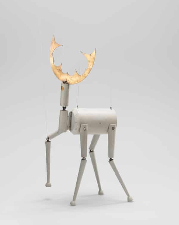 Stag (marionette for 'King Stag'), 1918 by Sophie Taeuber-Arp.