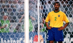 Zé Maria in action for Brazil in 2001.