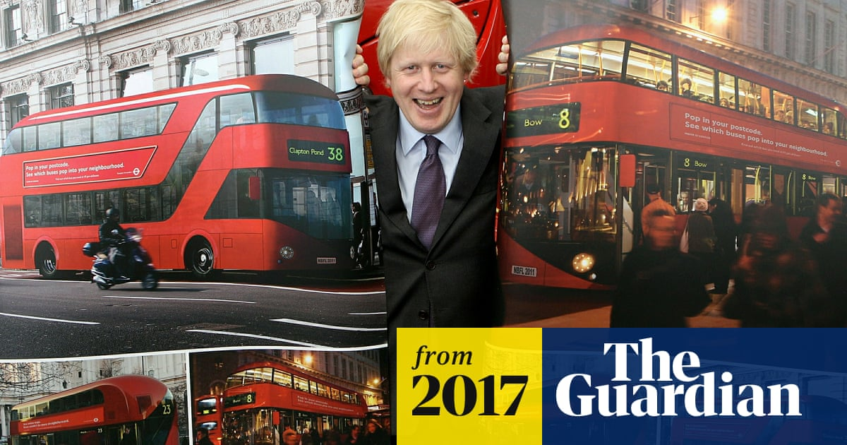 By the busload: £940m bill for Boris Johnson's mayoral 'vanity