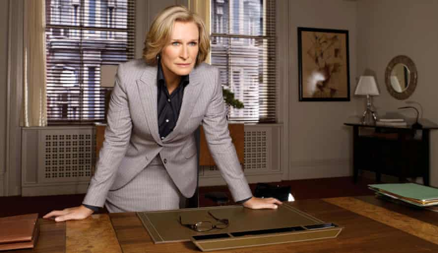 Glenn Close as Patty Hewes in Damages