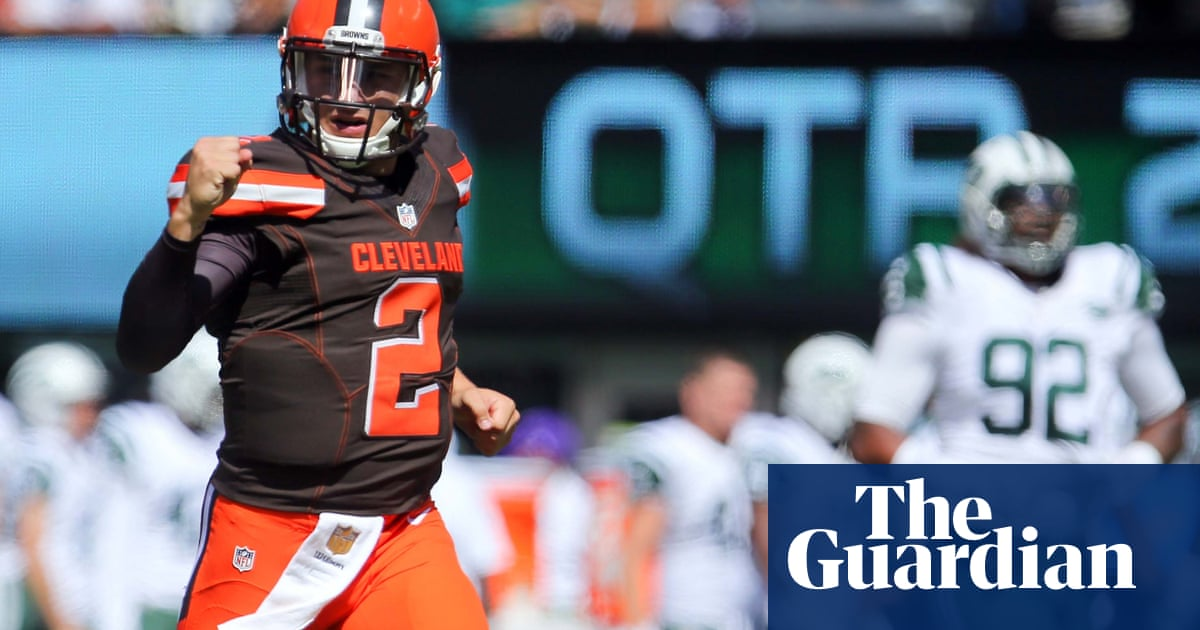 cheaper 487be bbed7 Johnny Manziel to start for Cleveland Browns against ...