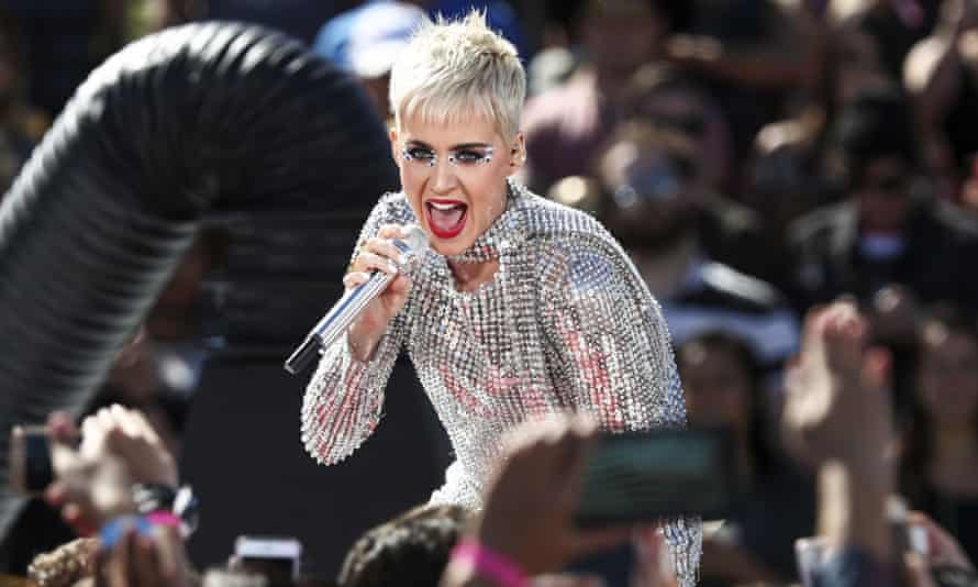 Katy Perry, who will be one of the judges in ABC's American Idol reboot.