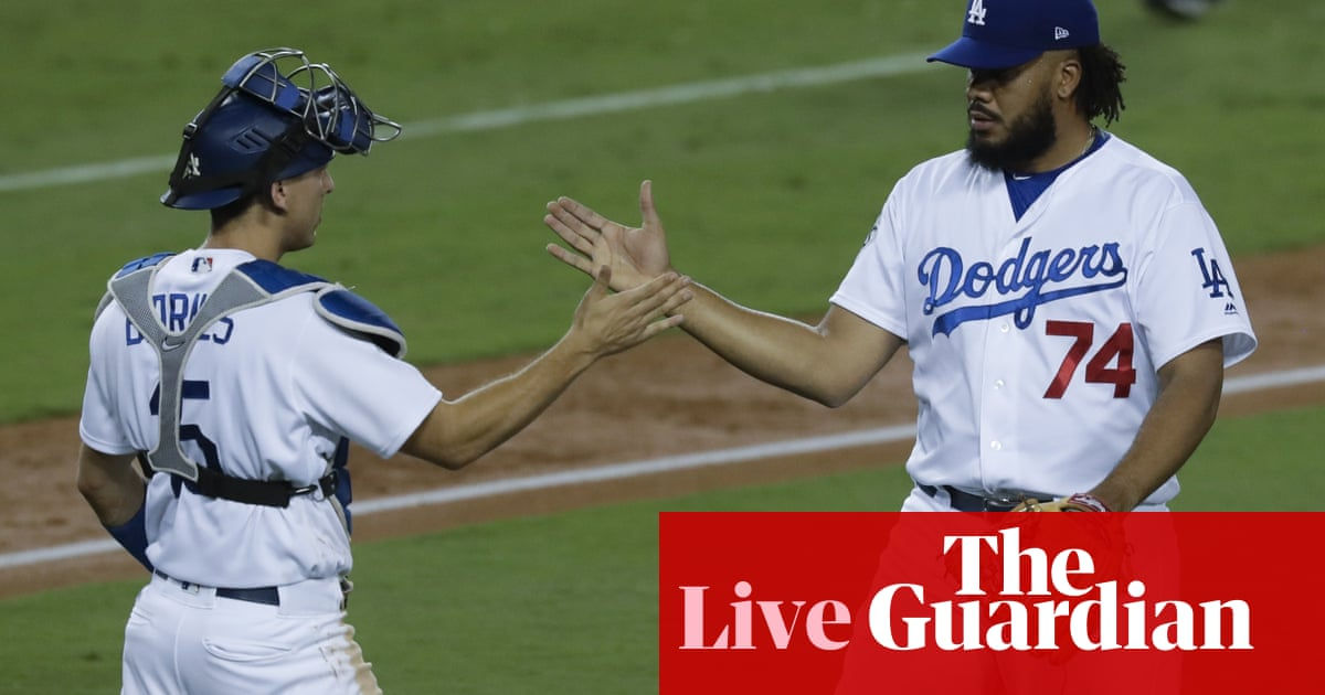 7b6792a95 World Series 2017 Game 1  Houston Astros 1-3 Los Angeles Dodgers – as it  happened. Clayton Kershaw ...