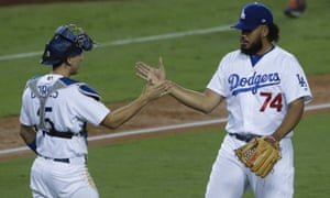Clayton Kershaw to Brandon Morrow to Kenley Jansen: a pitching formula for success and a Game 1 World Series win for the Los Angeles Dodgers.