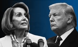 Image result for Images of Trump vs. Nancy Pelosi