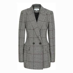 The blazer This season's oversized silhouette; £295, reiss.com.