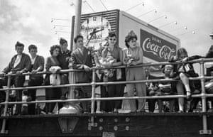 Coke Sign on the Boardwalk, 1949