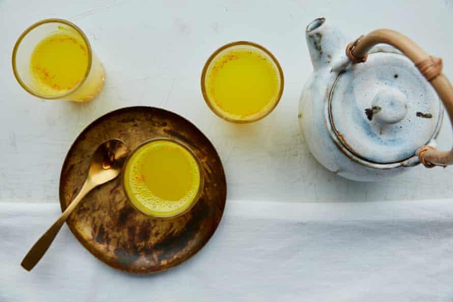 Anna Jones' turmeric, black pepper, lemon, honey tea