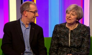 Philip and Theresa May on The One Show