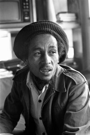 Bob Marley, 1975.