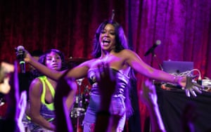 Azealia Banks on stage this week at the Academy, Dublin.