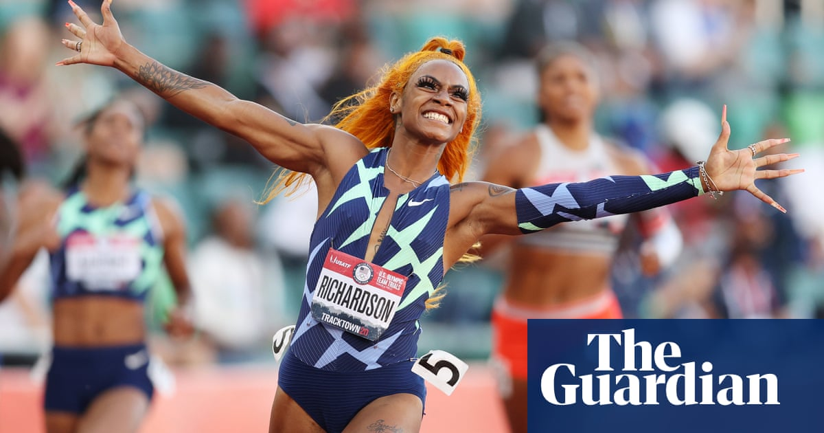 Sha'Carri Richardson reportedly out of Olympic 100m after positive cannabis test