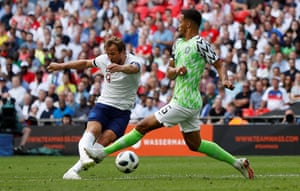 Harry Kane fires in the second.