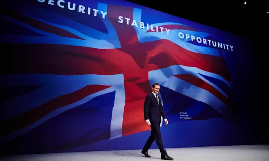 Osborne on conference stage