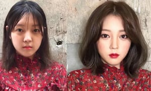 Korea Before And After Makeup Saubhaya Makeup