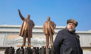 Vitaly Mansky in Pyongyang.